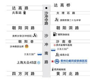 贵州白癜风来院路线